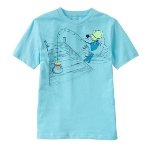 Fishing graphic T[XL(12T)]